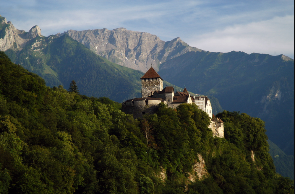 Vaduz Capital City of Liechtenstein