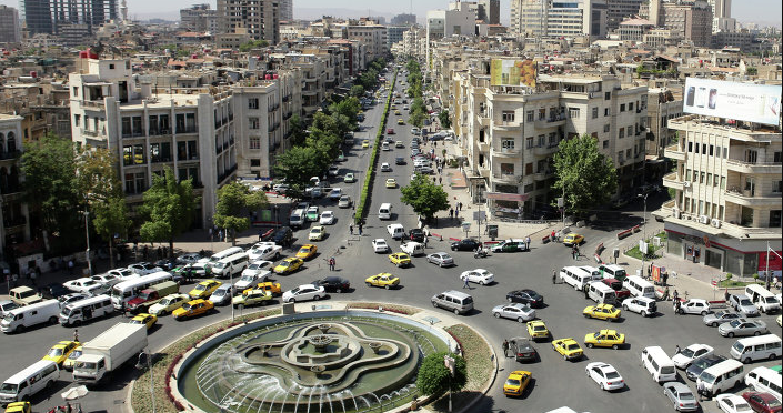 Damascus Capital City of Syria