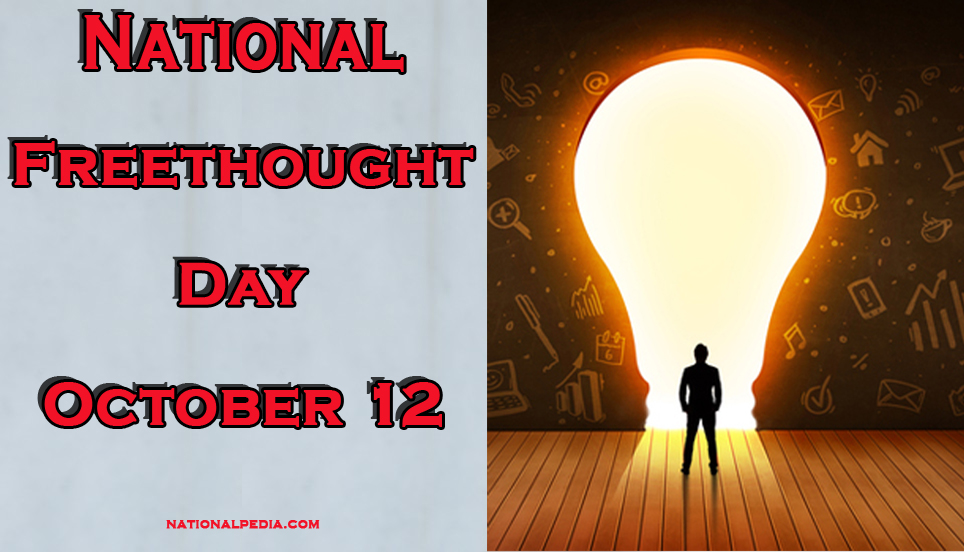 National Freethought Day October 12