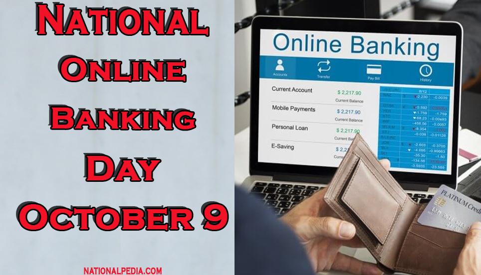 National Online Bank Day October 9