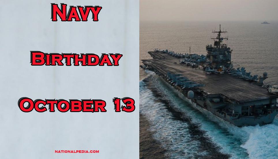 Navy Birthday October 13