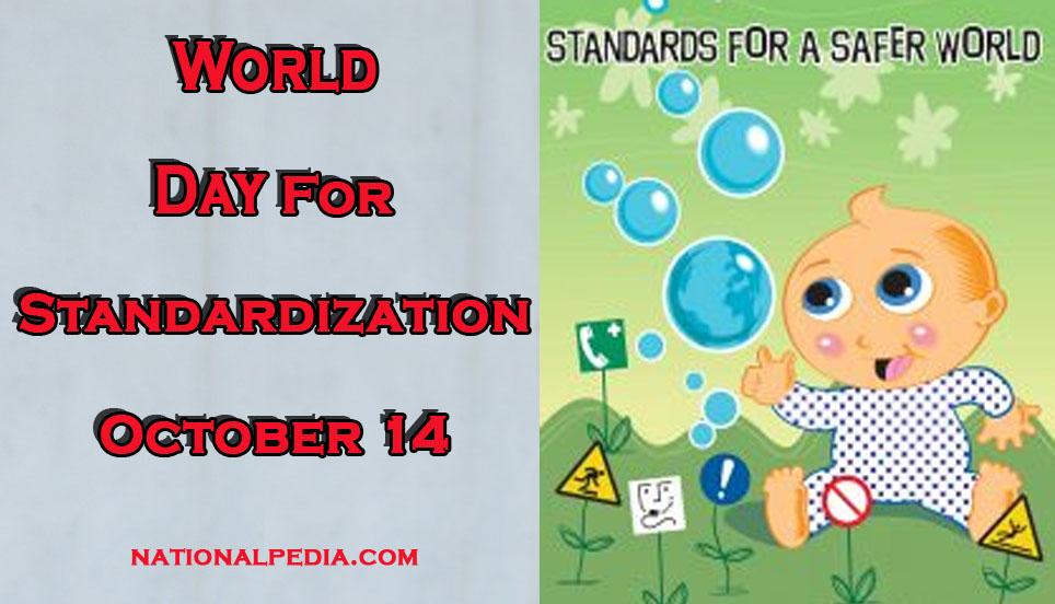 World Day for Standardization October 14